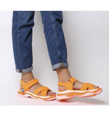 Fornarina Super 20 Sandal Orange £20 + £3.50 postage @ Office