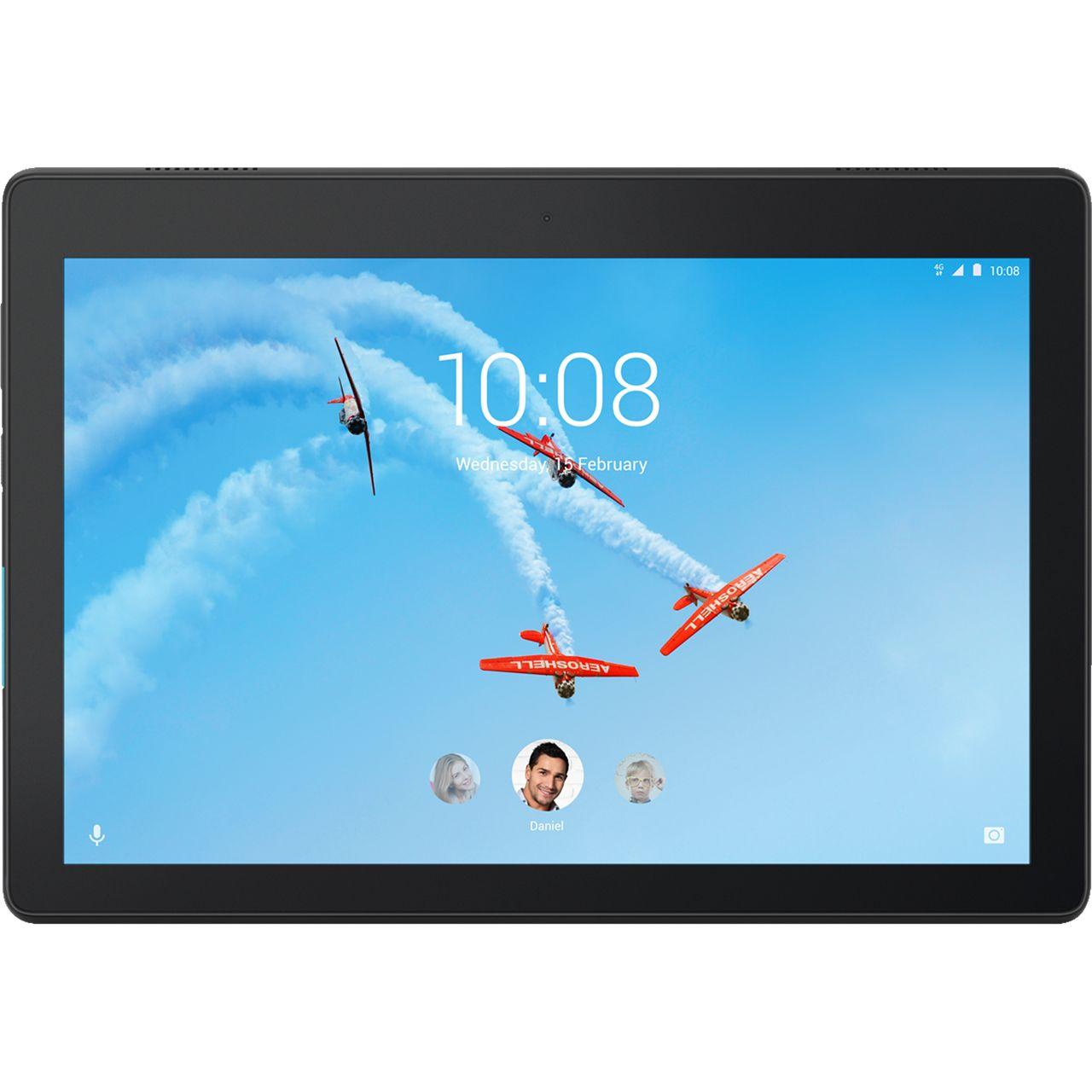 "Up To £50 Cashback On Tablets - Including Lenovo Tab E10 10.1"" 32GB Wifi Tablet - Black £99 (£10 Cashback) @ AO"