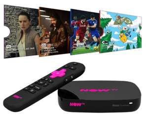 Now TV 4K Box with 4 Passes - £24.99 Instore @ B&M (Warminster)