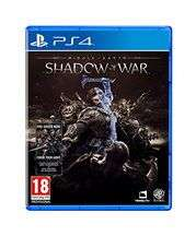 [PS4] Middle-Earth: Shadow of War - including 'Forge Your Army' DLC £6.95 delivered @ Base
