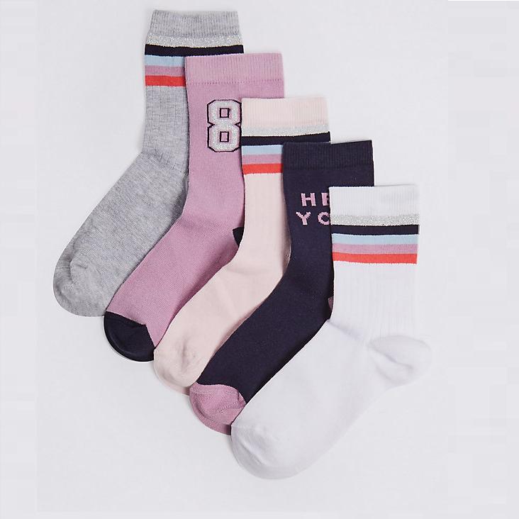 5 Pairs ( Multi pack)  of Children's Socks  (free C&C) @ Marks & Spencer - £3.00 - £3.50.  More in OP