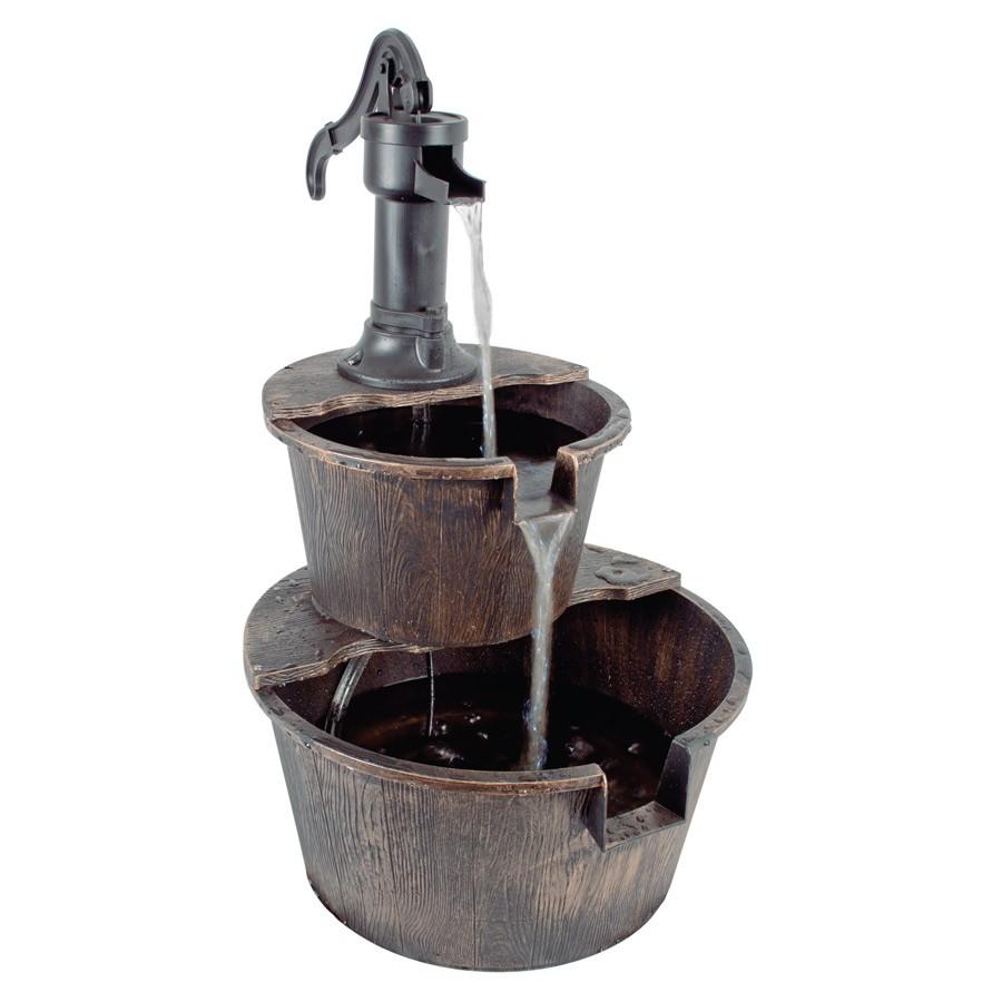 2 tier Barrel Fountain, Now £27.93 @ Robert Dyas (Free C&C)