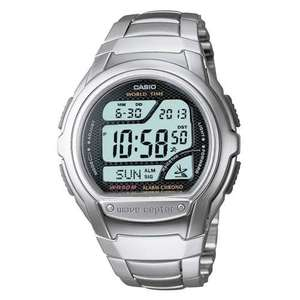 Casio Digital LCD Watch Waveceptor with Atomic Radio Time, Stopwatch, Alarm etc @ The 7DayShop - £24.99 Delivered