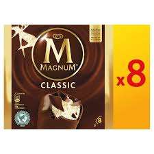 (From 19th August) Get 16 Magnums (2 X 8 Pack) £4.66  (£0.29 each) @ Costco