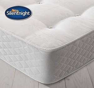 Silentnight Posture Support Mattress | Zoned Spring System | Ideal for Back Sleepers | Tufted Cover | Extra Firm - Single - £127.99 @ Amazon