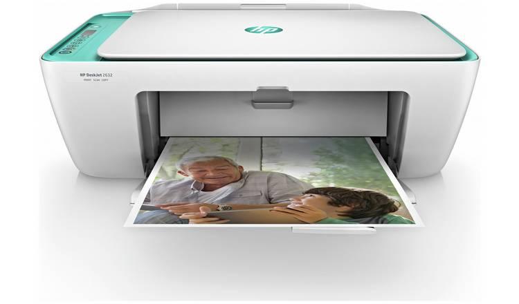HP DeskJet 2632 Wireless Printer & 4 Months Instant Ink £29.99 @ Argos