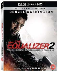 The Equalizer 2 (4K with Blu-ray) [UHD] £9.99 £8.99 with code @ Zoom