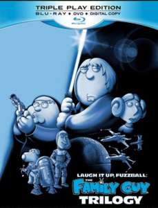 Used: Family Guy Star Wars Trilogy - Laugh It Up, Fuzzball on Blu-ray for £4.31 with code @ MusicMagpie (Free Delivery)