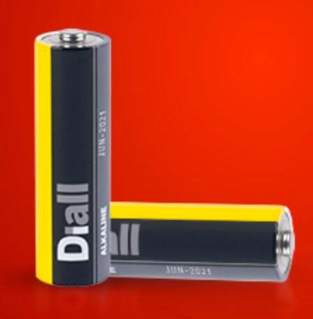 Diall Alkaline AA / AAA Batteries 40 Pack £5.24 (was £10.49) @ Screwfix