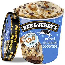 (From 21st August) Ben & Jerry's Moo-phoria Salted Caramel Brownie Ice Cream Tub 500ml £2 @ Iceland
