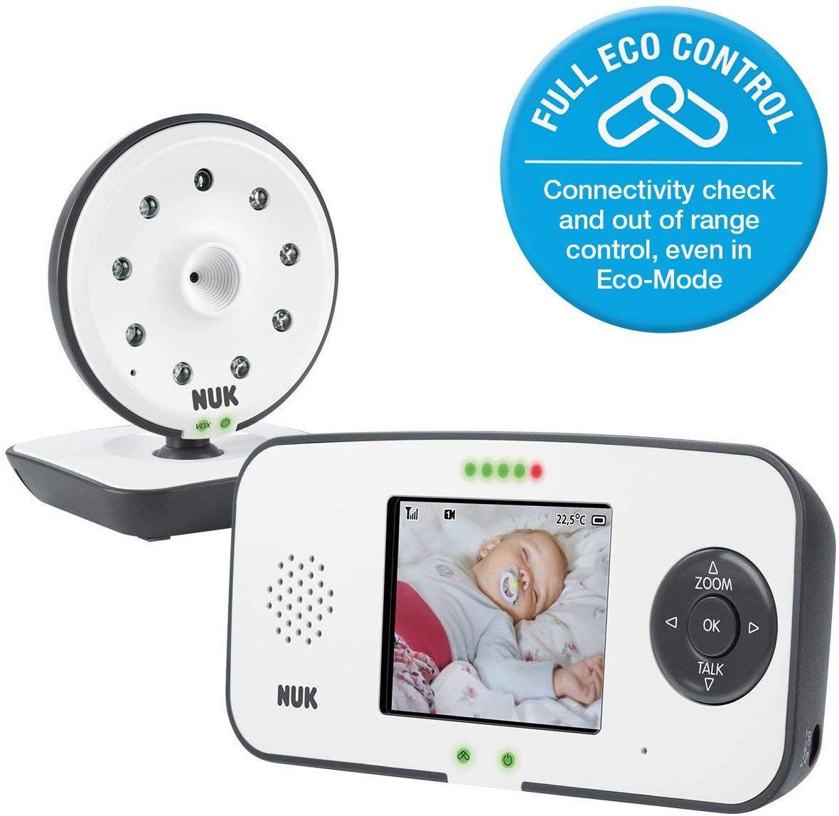 NUK 550VD Video Baby Monitor - £91.60 @ Amazon