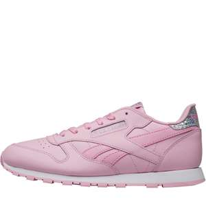 Reebok Classics Junior Girls Leather Pastel Trainers now £12.99 / £17.98 delivered @ MandM Direct