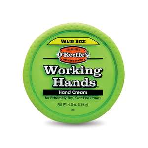 O'Keeffe's® Working Hands Value Size Jar 193g - Reduced to £7.96 with Prime (+£4.49 Non Prime) @ Amazon