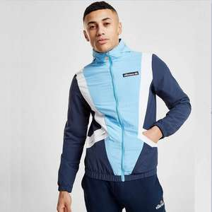 Ellesse Malvia Woven Track Top (was £60) Now £20 with Free click and collect @ JD Sports