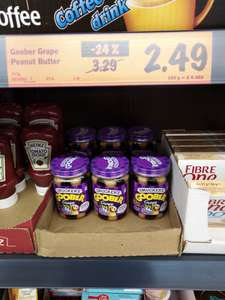 Smucker's Goober Grape Peanut Butter and Jelly - £2.49 @ LIDL