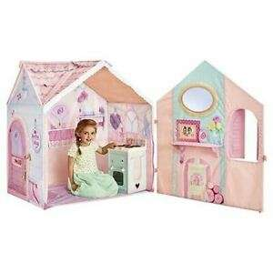 Rose Petal Cottage Tent Kids Play House & Cooker Playset Wendy House For Ages 2+ - £29.50 at Tesco Outlet eBay