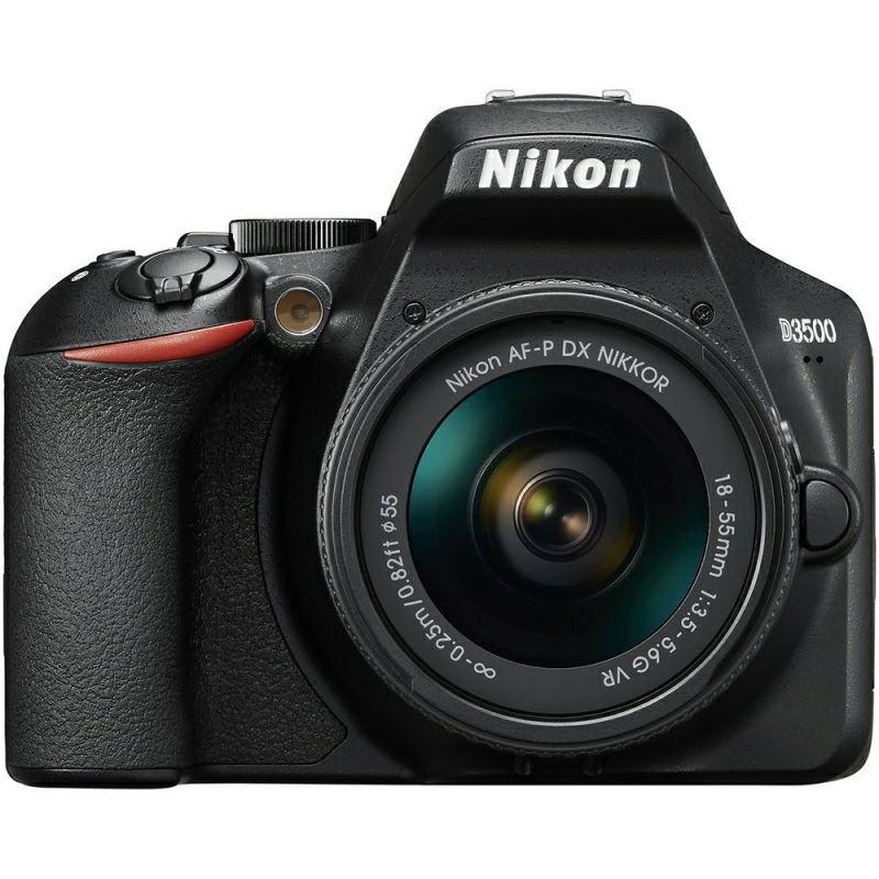 Nikon D3500 Kit AF-P DX 18-55mm f/3.5-5.6G VR Lens Digital SLR Camera - Black £279.99 @ eGlobal Central