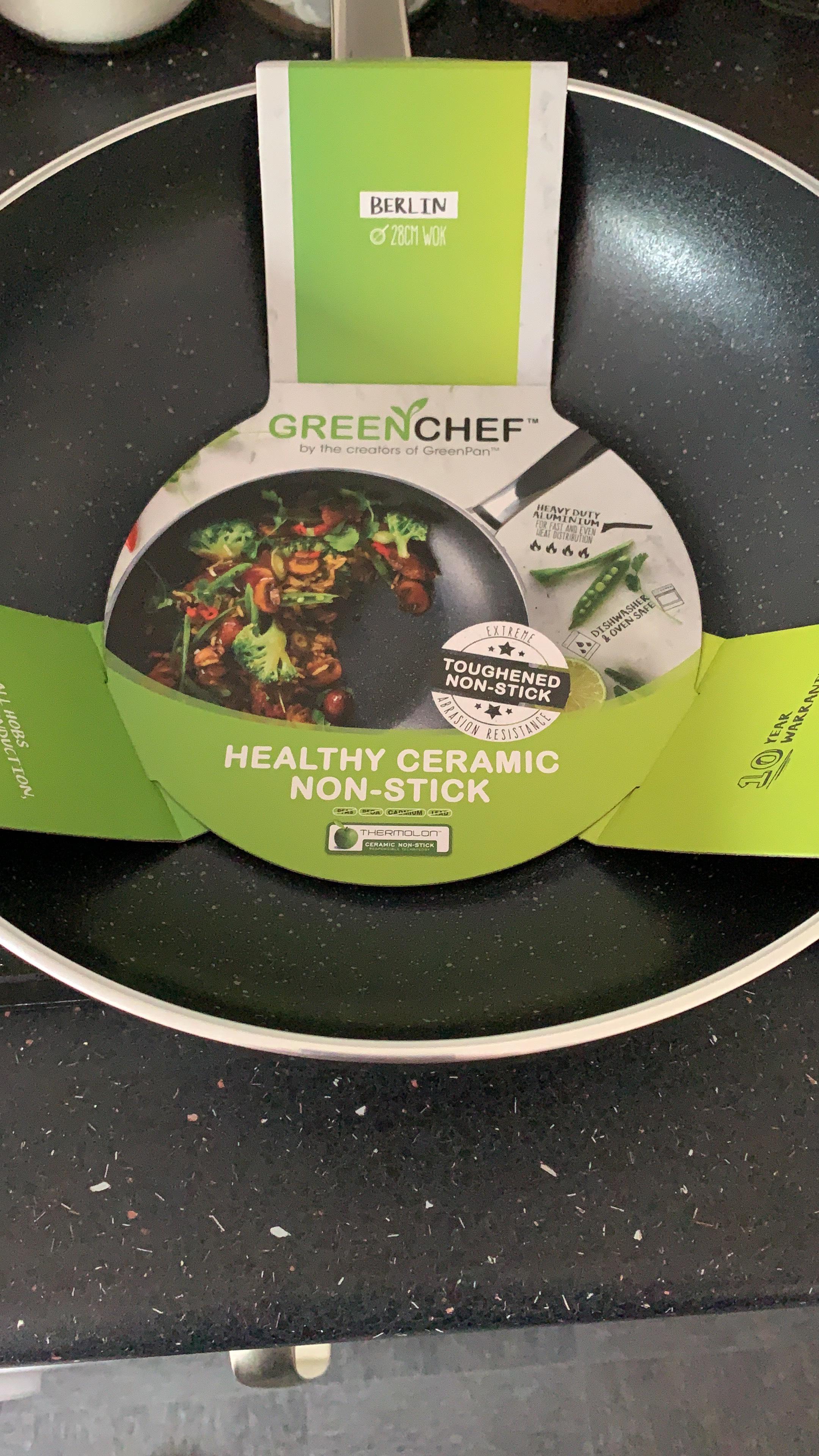 Green Chef Wok - £11.70 instore @ Sainsbury's