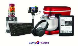 Half price £10 voucher £5 at Groupon / Currys PC World (Invite only)
