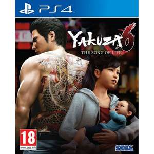 Yakuza 6 Song of Life (PS4) £16.95 Delivered @ The Game Collection
