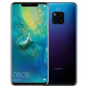 Huawei Mate 20 Pro 128GB Twilight Unlocked Single Sim Open Mint Condition £400 at buymobileswarehouse eBay