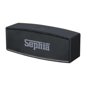 Sephia A11 Bluetooth Speaker - £6.49 Prime (+£4.49 Non prime) Lightning Deal @ Sold by Sephia and Fulfilled by Amazon.