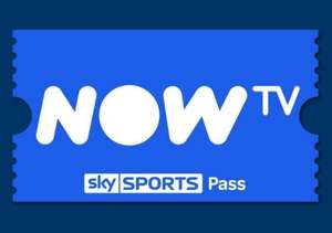 Now TV Sky Sports 1 Week Pass £3.36 / NOW TV Entertainment 2 Month Pass £6.37 w/code @ Gamivo