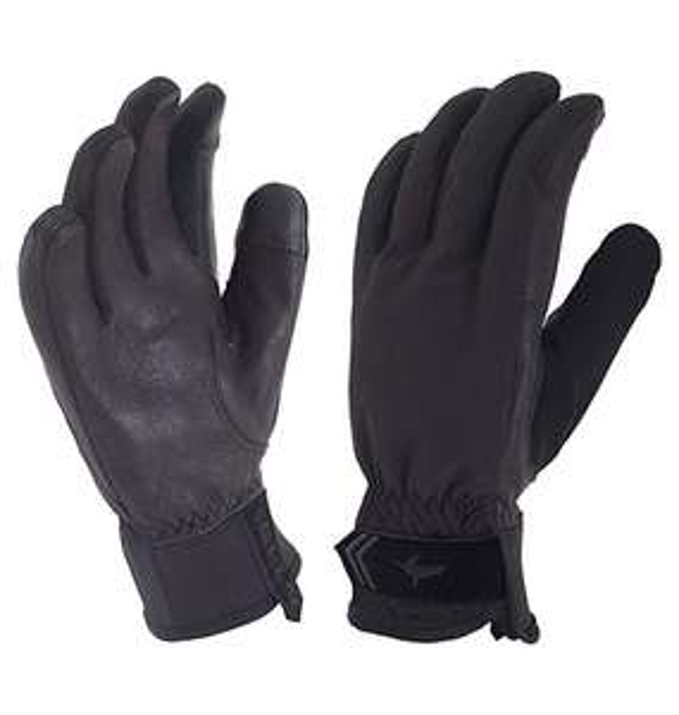 SEALSKINZ 100 Percent Waterproof Windproof Glove - size L - £11.71 (Prime + £4.49 Non Prime) @ Amazon
