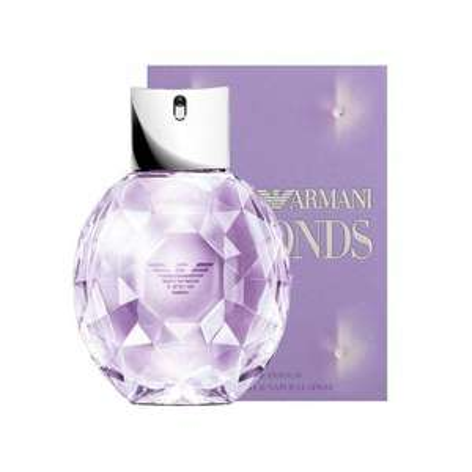 Emporio Armani Diamonds Violet 50ml now £25 w/codes + Free Delivery, Free sample & Gift Wrap @ Beauty Base