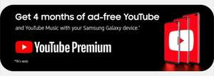 4 months FREE YouTube Premium/ Youtube music with samsung members(Galaxy S10 users only,Account Specific )