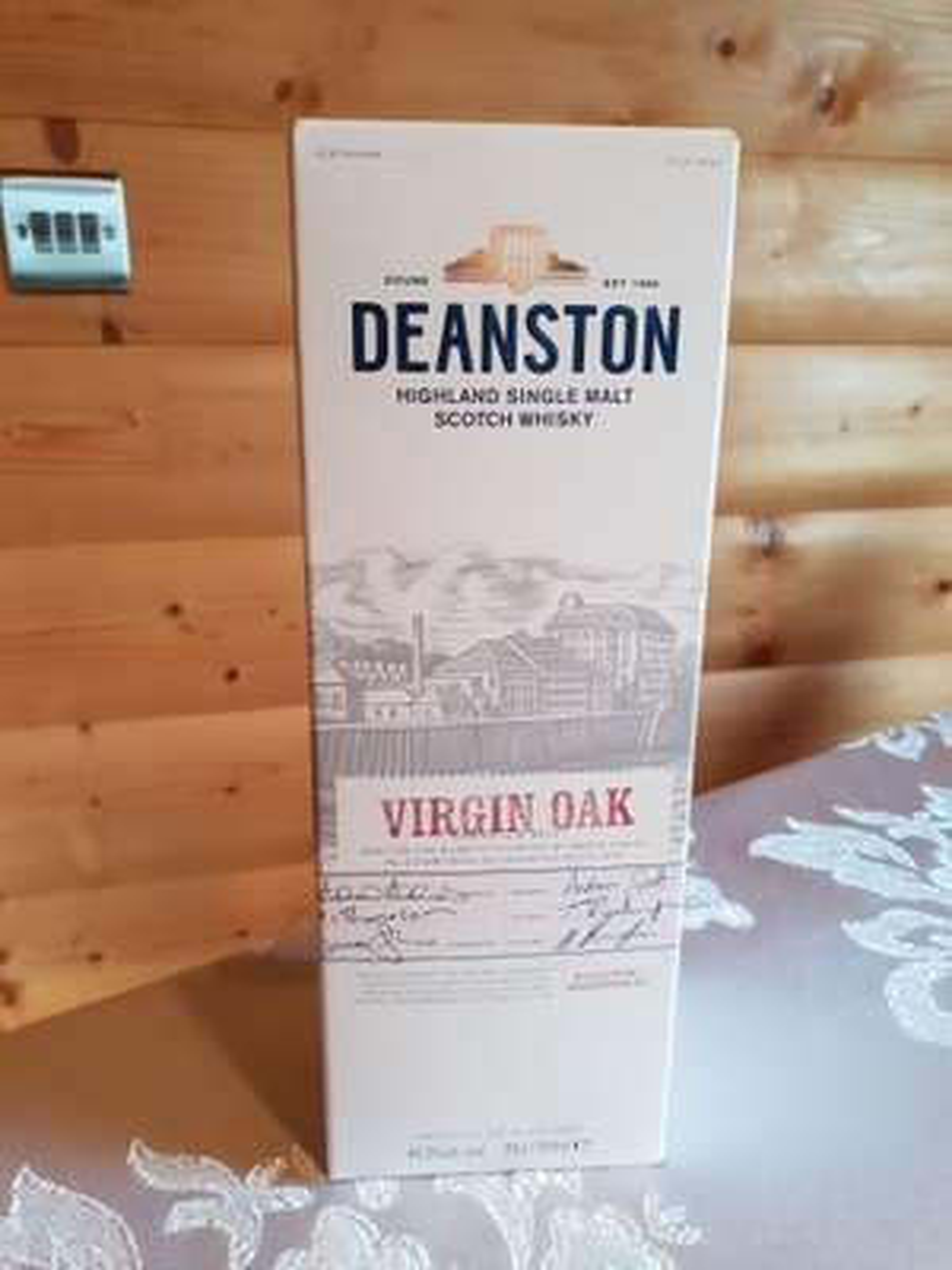 Deanston Virgin Oak 70cl Single Malt Scotch Whisky £25 instore @ Booths