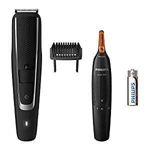 Amazon Deal of the Day - Philips BT5503/83 Series 5000 Beard and Stubble Trimmer with S.3000 Nose, Ear and Eyebrow Trimmer - £30 @ Amazon