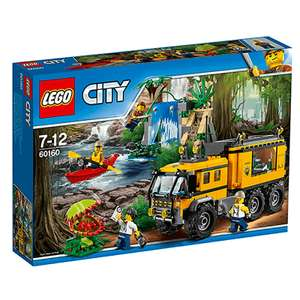 LEGO City Jungle Mobile Lab 60160 £26.66 @ The Entertainer