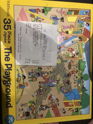 WH Smith - 35-Piece Puzzles - Scanning Instore at £0.01 (Oxford)