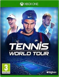 Tennis World Tour for Xbox One £9.99 (In-Store) £11.94 (Delivered) @ Game