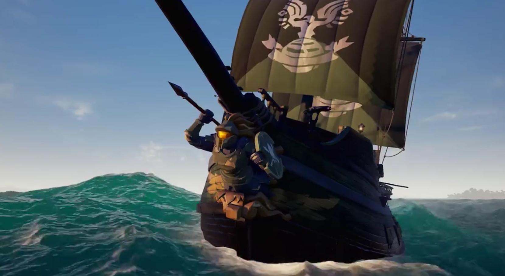 [Xbox One/Windows 10] Sea of Thieves Halo Inspired Spartan Ship - Free