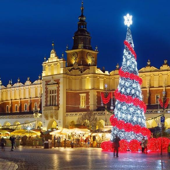 2 Nights Christmas Markets Krakow Break (Departing London / December dates) £55.20p/p @ Groupon / Crystal Travel (Using code)