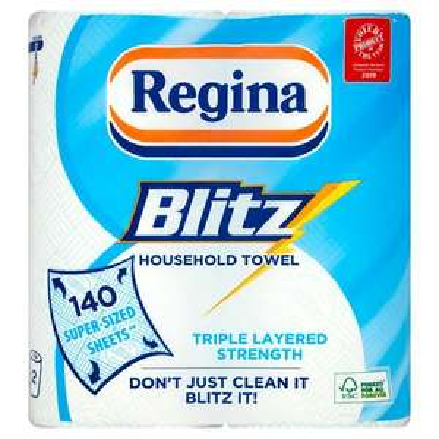 Regina Blitz All Purpose Kitchen Towel - 2 x 2 Packs - £4 @ Morrisons