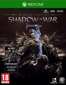 [Xbox One] Middle-earth: Shadow of War - £4.40 (Pre-owned) - Music Magpie