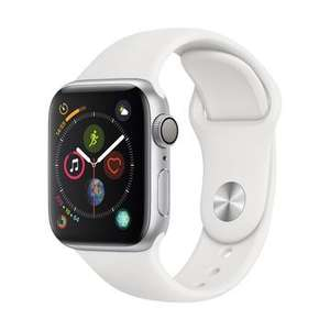 1 in stock: Apple Watch S4 40mm Silver Aluminium Case with White Sport Band £298.80 @ Jigsaw24