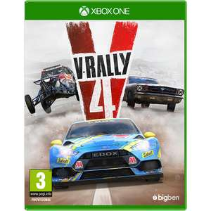 V-Rally 4 Xbox One 9.99 New (Free C&C) @ GAME