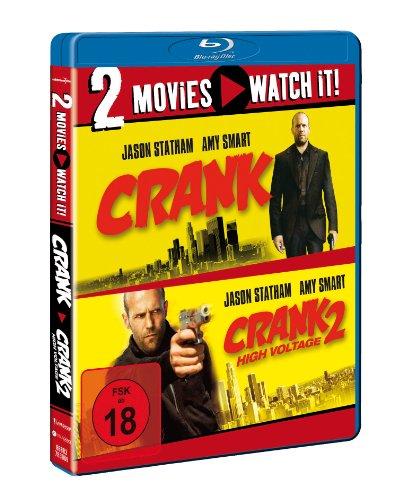 Crank (extended version) & Crank 2: High Voltage - BLU RAY £12.93 @ Amazon Germany