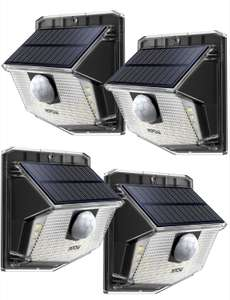 Mpow 30 LED solar security lights (4 pack). £21.99 with voucher @ Sold by MPOW Direct-sale and Fulfilled by Amazon.