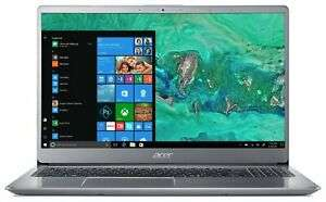 "Acer Swift 3 (15.6"") - Intel Core i5 8250U 4GB+16GB Optane, 1TB HDD, Full-HD IPS, All Aluminium, Backlit KB, FP Scanner £364.99 @ Argos Ebay"