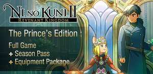 Ni No Kuni II Revenant Kingdom - Princes Edition PC With Season Pass and exclusive weapons - £27.99 @ CDKeys