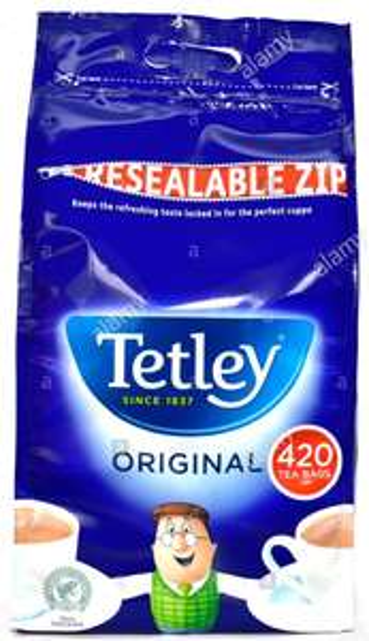 420 Tetley tea bags resealable zip bag - £3 instore @ ASDA Torquay