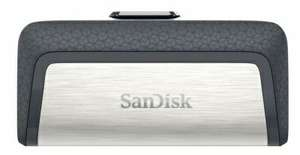 SanDisk Ultra Dual Drive USB (130MB/s) Type C Flash Drive 64GB for £10.99 Delivered @ Picstop