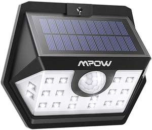 4x Mpow Solar Lights, 20 LED Super Bright Motion Sensor Security Lights £9.34 (Prime) £13.83 (Non Prime) @ Sold by MPOW Direct-sale and FBA