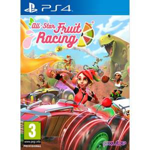 All-Star Fruit Racing (PS4) £7.95 Delivered @ Base