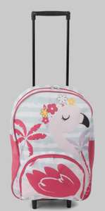 Constellation Flamingo Roller Backpack £7 free c&c from Matalan / 10 year guarantee